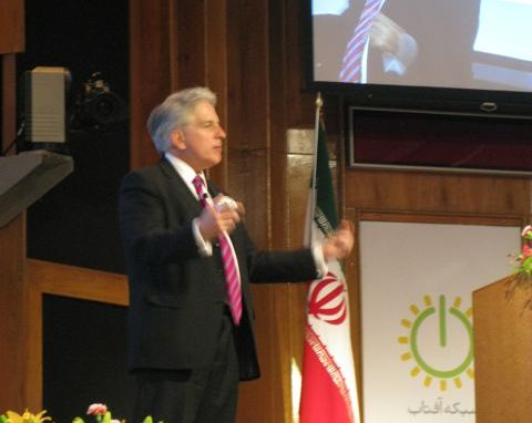 Speaking in Iran